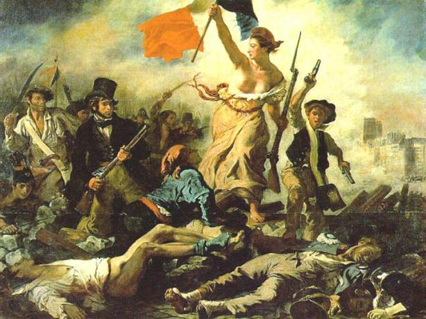 Liberty Leading the People