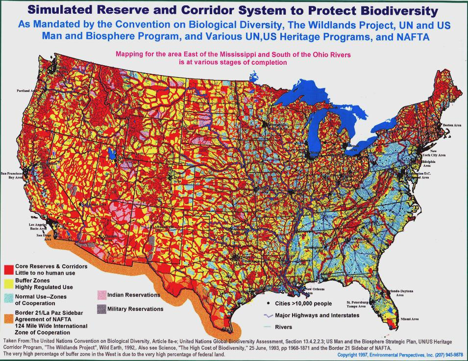 Water Wars Colossal Land Grab by the UN and the Feds Agenda 21